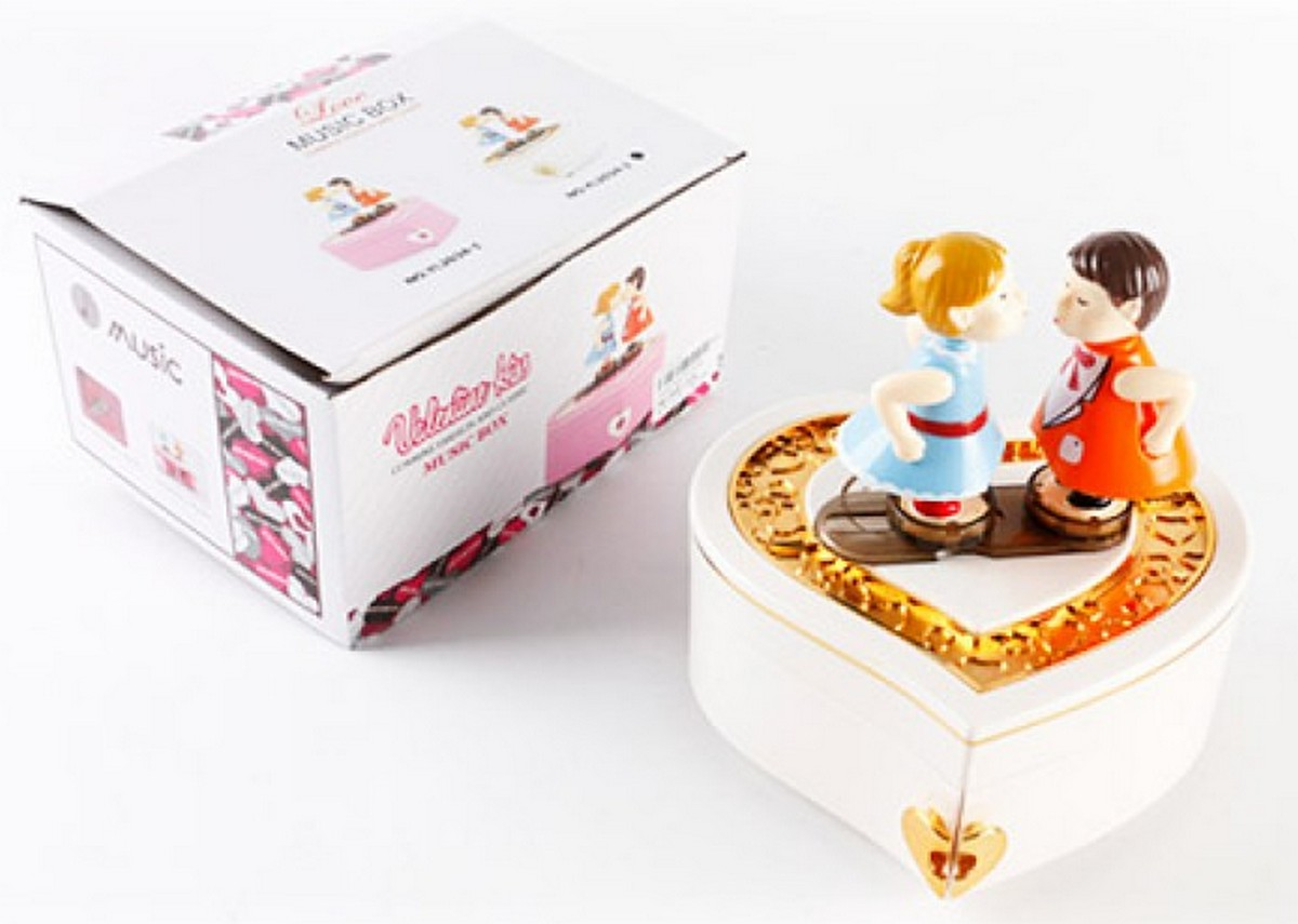 bk toys ltd. Шкатулка заводная с фигурками YL2034