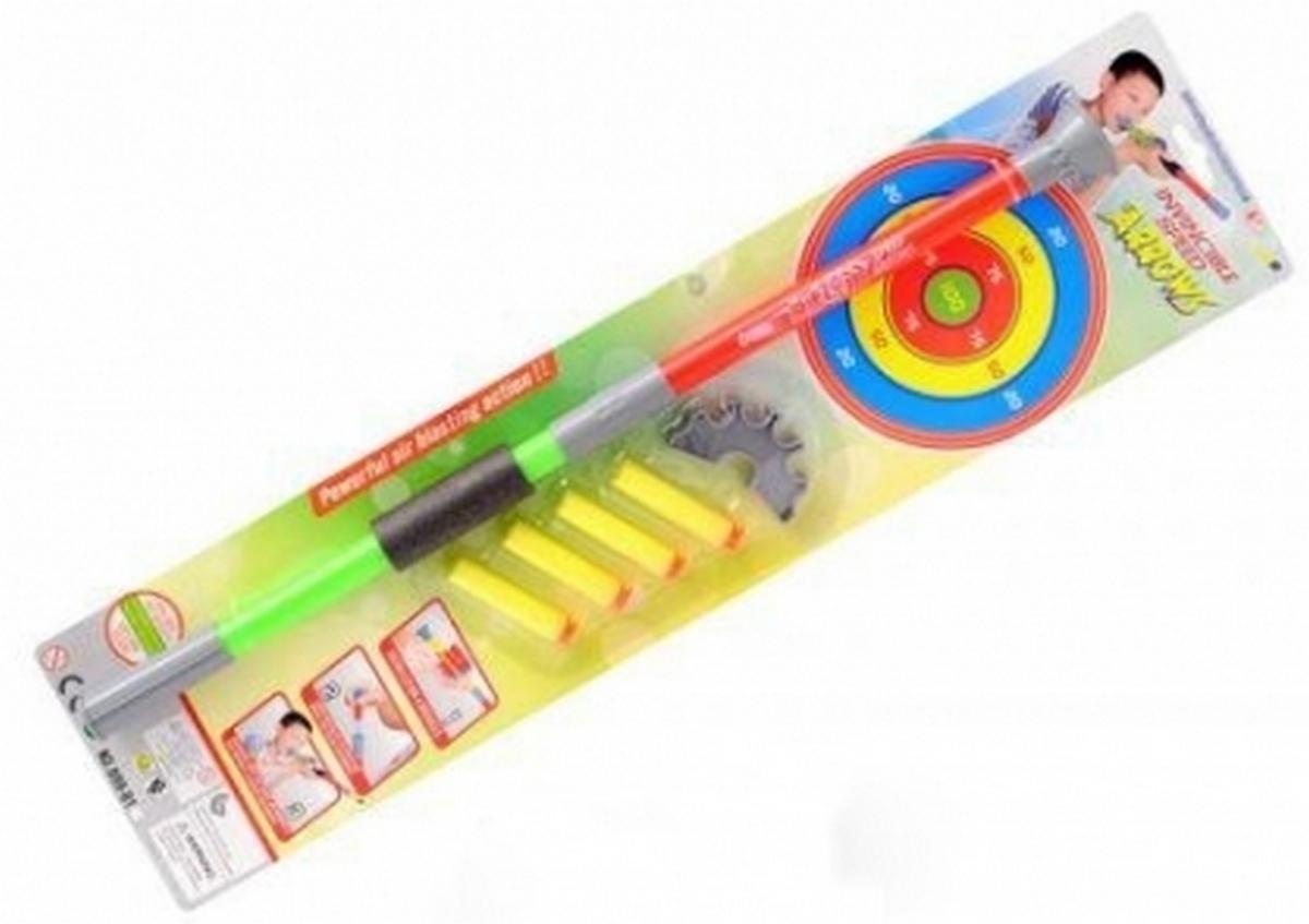bk toys ltd. Набор для стрельбы поролоновыми пулями с дартсом 999-B1