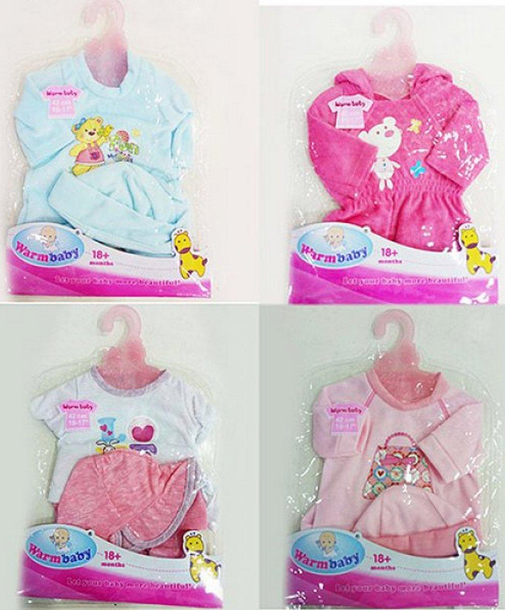 baby doll Кукольный наряд 4 вида для пупсика DBJ-009-2-3-464-BDJ-466