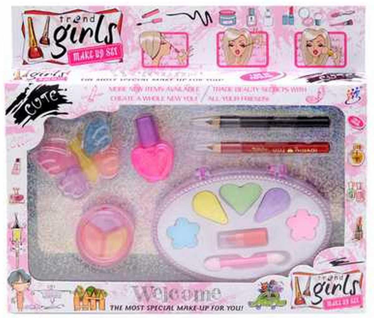 bk toys Набор косметики Trend Girls для девочек 6602