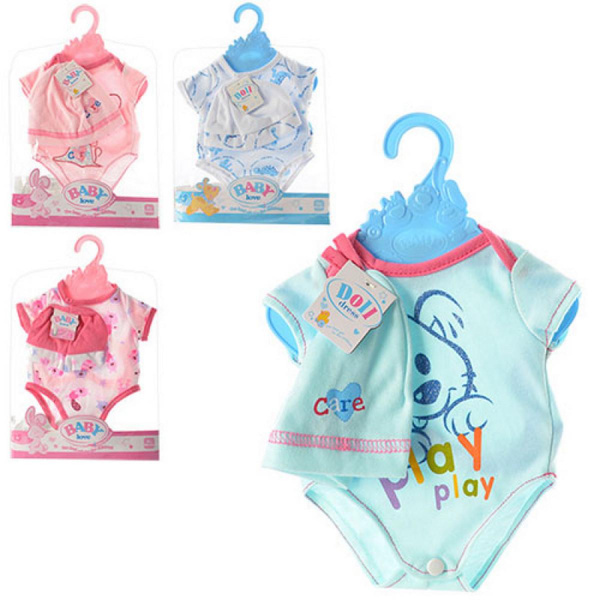 baby doll Наряд кукольный 4 вида Baby Love BLC17-21-03-09