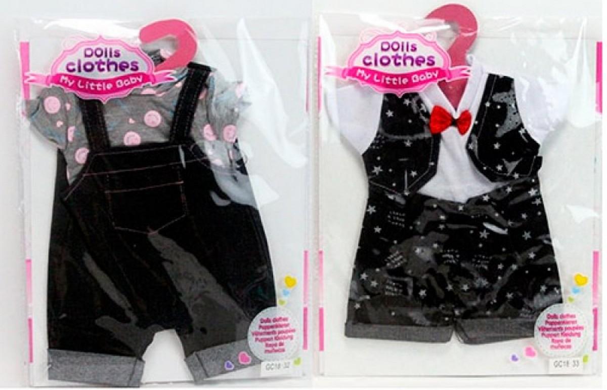 bk toys ltd. Кукольный наряд 2 вида Dolls Clothes GC18-32-33