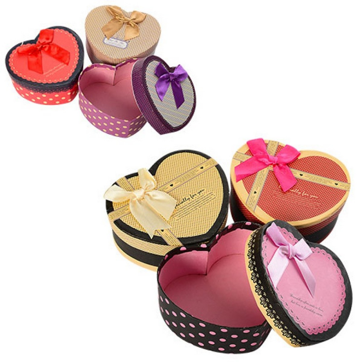 bk toys ltd. Шкатулка сувенирная «Сердце» 6 видов 6200