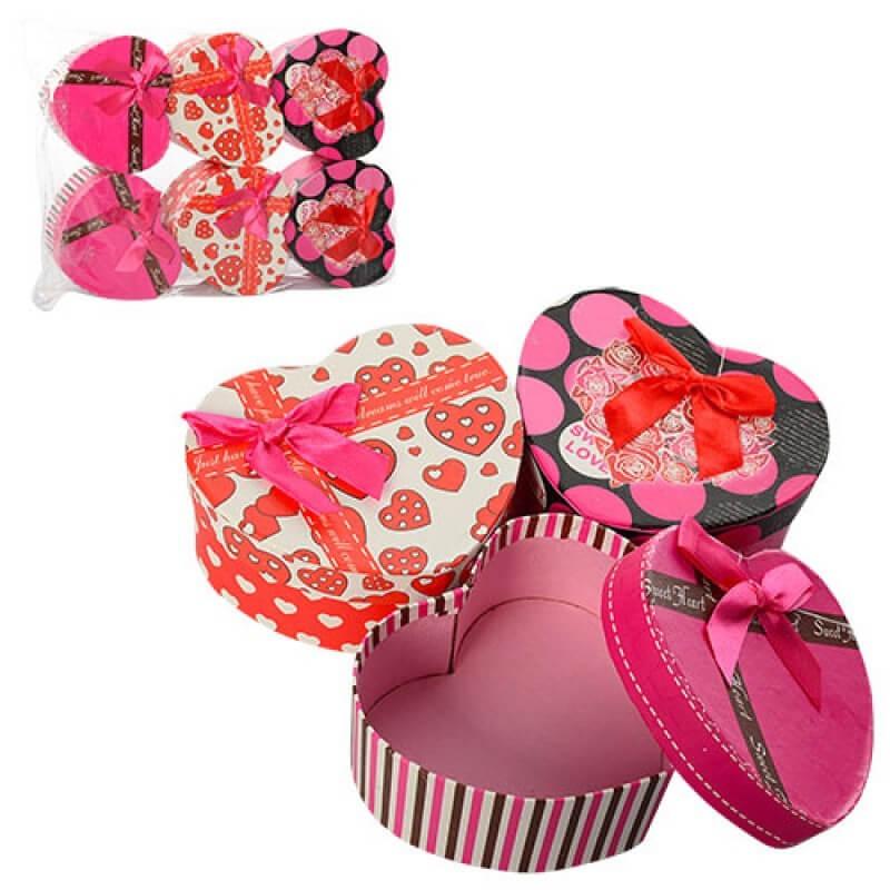 bk toys ltd. Шкатулка сувенирная «Сердце» 3 вида 6201