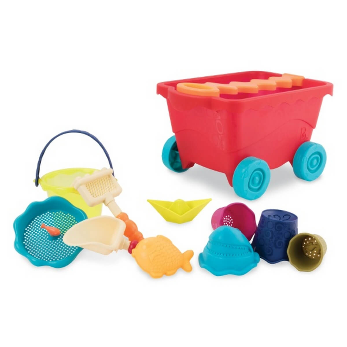 battat Набор для игры с песком и водой «Тележка Манго» Battat BX1594Z