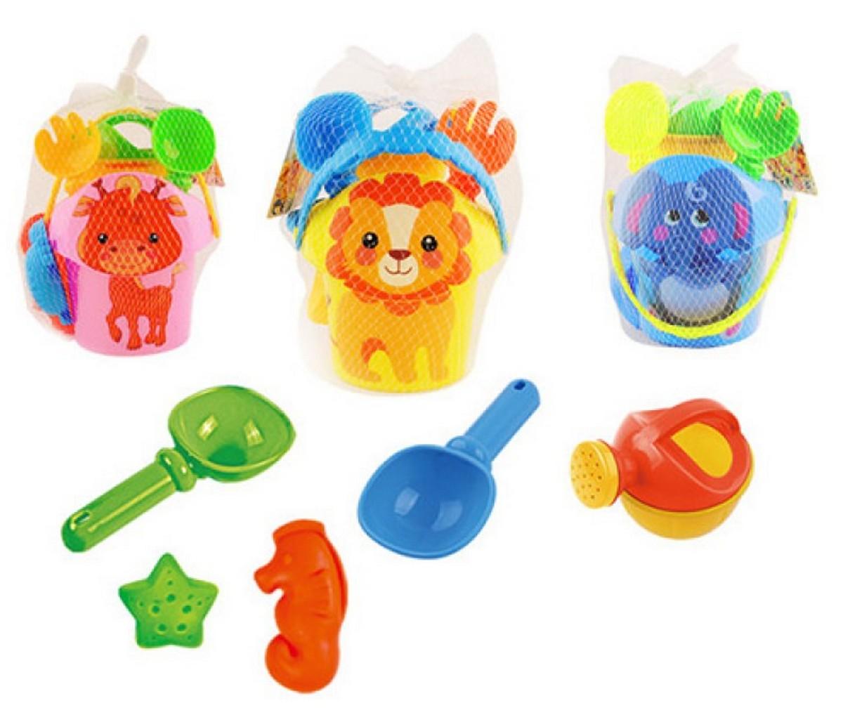 bk toys ltd. Набор для песочницы 3 вида с лейкой 611