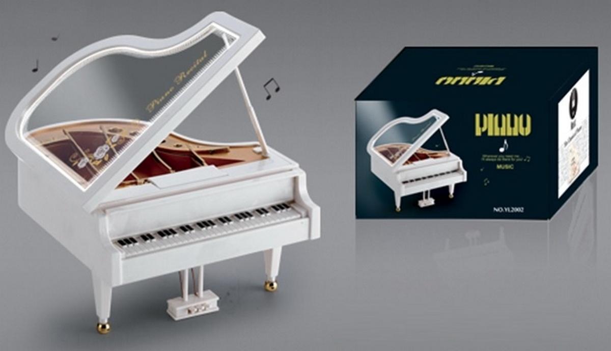bk toys ltd. Шкатулка музыкальная «Пианино» YL2002