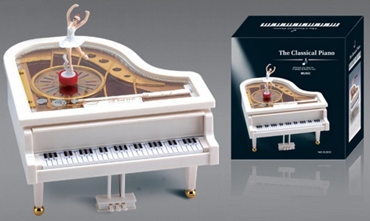 bk toys ltd. Музыкальная шкатулка «Пианино» YL2012