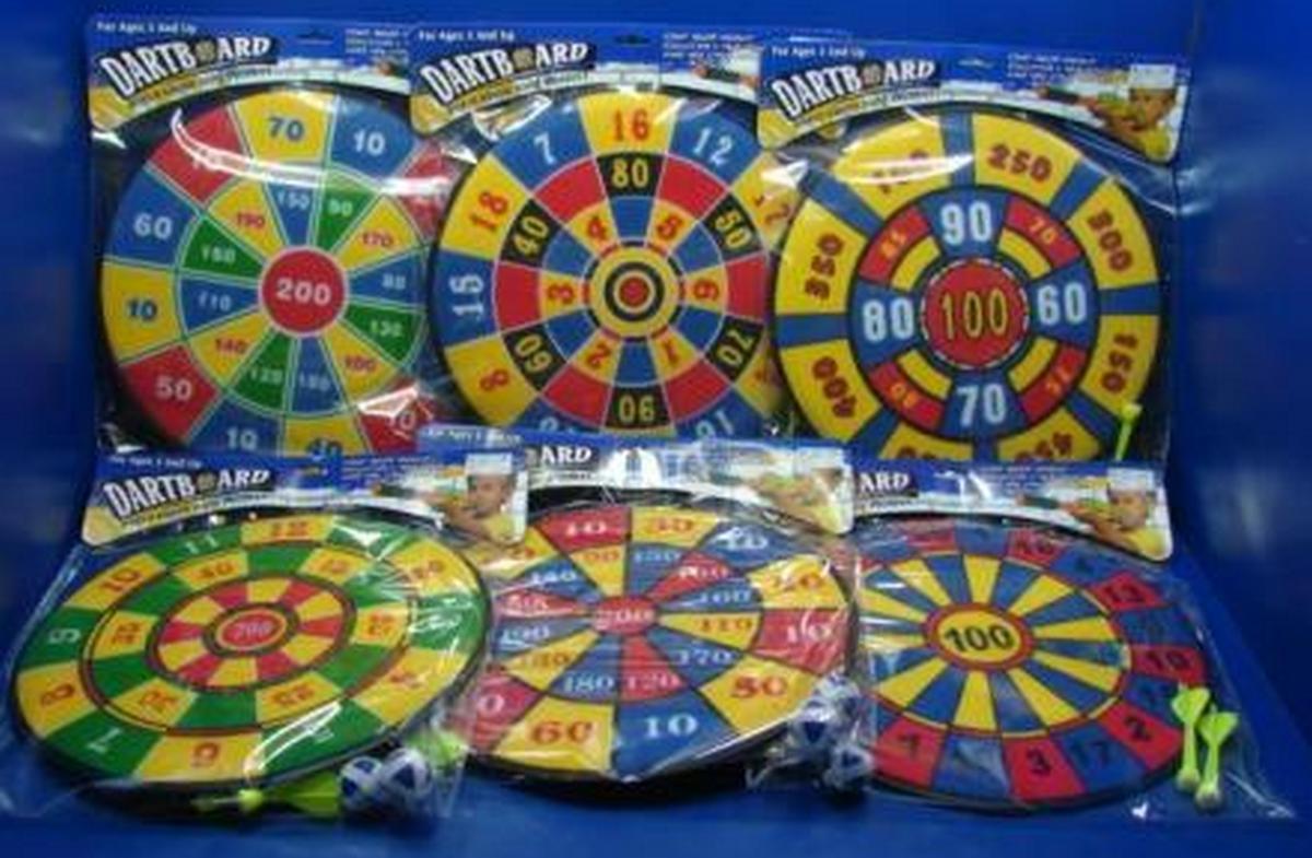 bk toys ltd. Дартс 6 видов для детей 5581/6