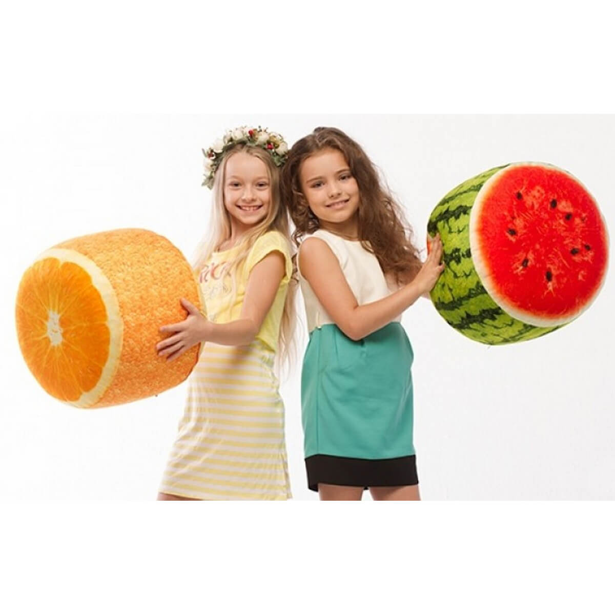 danko toys Мягкий надувной пуфик «Fruit Pouf» НВ-08-05