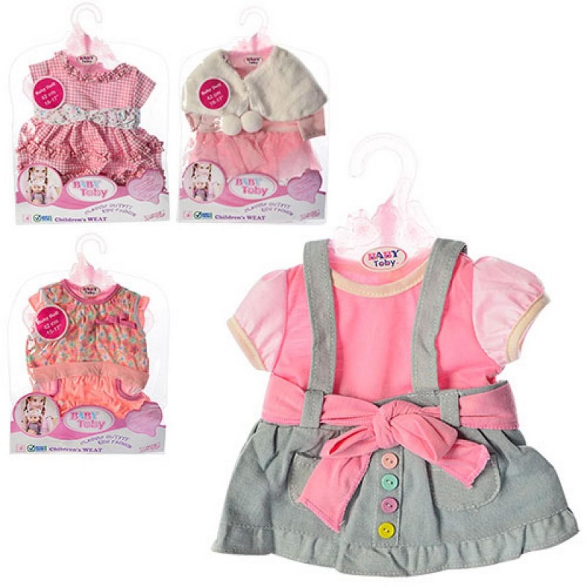 baby toby Кукольный наряд 4 вида 77000-90-109-103-48